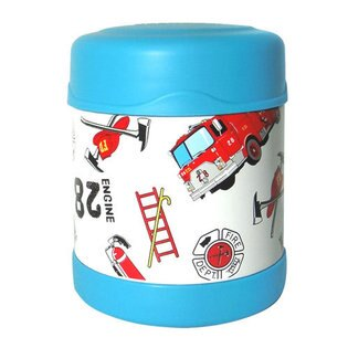 膳魔師0.3L消防車不鏽鋼真空食物罐 F3001HRB6(限量促銷)