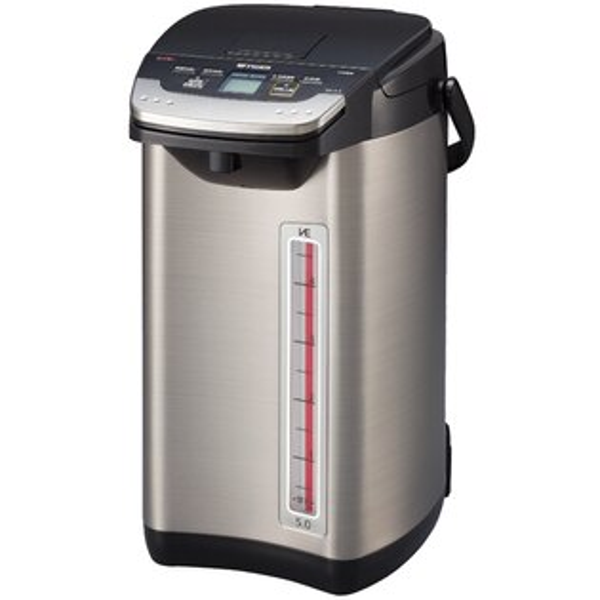 【TIGER虎牌】蒸氣不外漏VE真空電動電熱水瓶 PIE-A50R