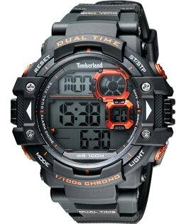 Timberland 天柏嵐 TBL.14260JPGY/13流行數位黑橘腕錶/黑面55mm