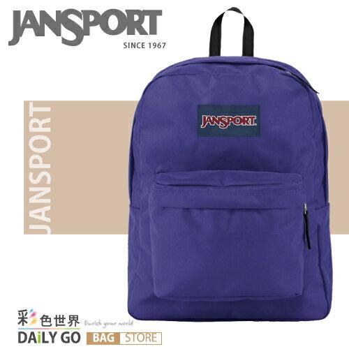 JANSPORT 後背包-紫色 JS-43501-05B