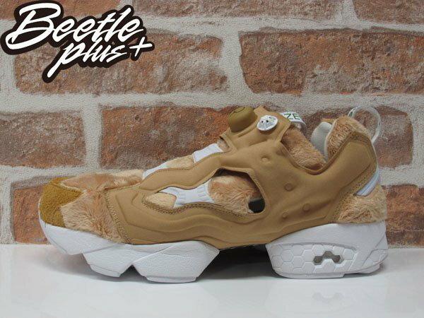 BEETLE BAIT X TED 2 X REEBOK NASTY INSTAPUMP FURY 熊麻吉 聯名 生氣版 毛毛 泰迪熊 泰德 慢跑鞋 AQ9351