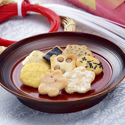 有樂町進口食品 神田製菓本舗寄席の華 綜合仙貝 J40 4973096000864 1