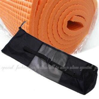 瑜珈墊網袋 6MM以下瑜珈墊適用 另有瑜珈磚 瑜珈柱【GF180】◎123便利屋◎
