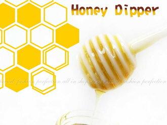 創意 蜂蜜攪拌棒 咖啡飲料攪拌 蛋糕鬆餅糖漿上色 好幫手【DN283】◎123便利屋◎