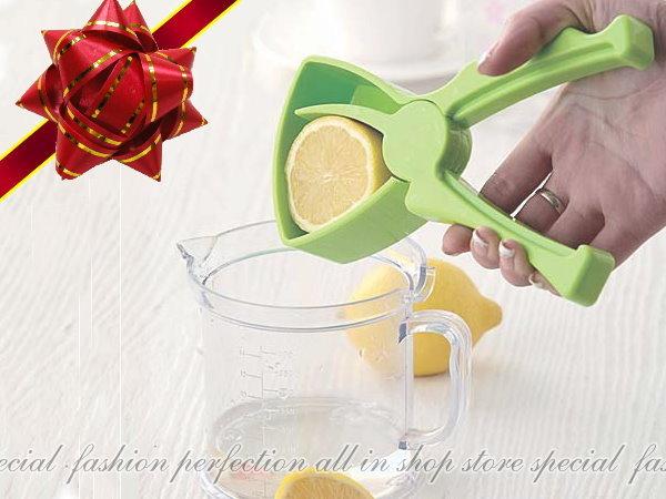 擠檸檬器 柳橙手動榨果汁機 擠壓滴漏式榨汁器壓榨器【DV425】◎123便利屋◎