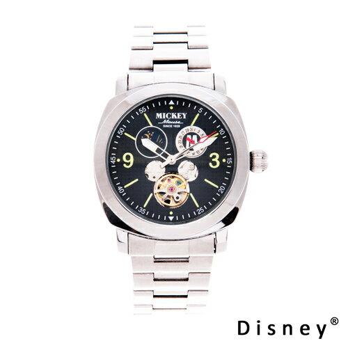 【嚴購網】Disney迪士尼經典不鏽鋼機械錶