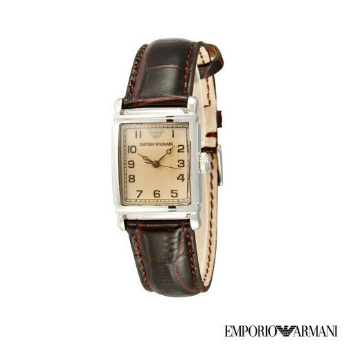 【嚴購網】ARMANI經典皮帶女錶(AR0204)
