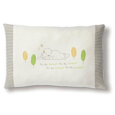 台灣【Kuku 酷咕鴨】有機棉四季枕 0