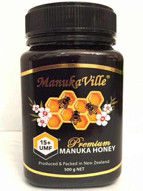 ManukaVille莊園活性麥蘆卡蜂蜜UMF15 ^(500克^)