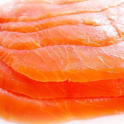 挪威進口★煙燻鮭魚★油脂豐富、口感極佳~##C0015 1