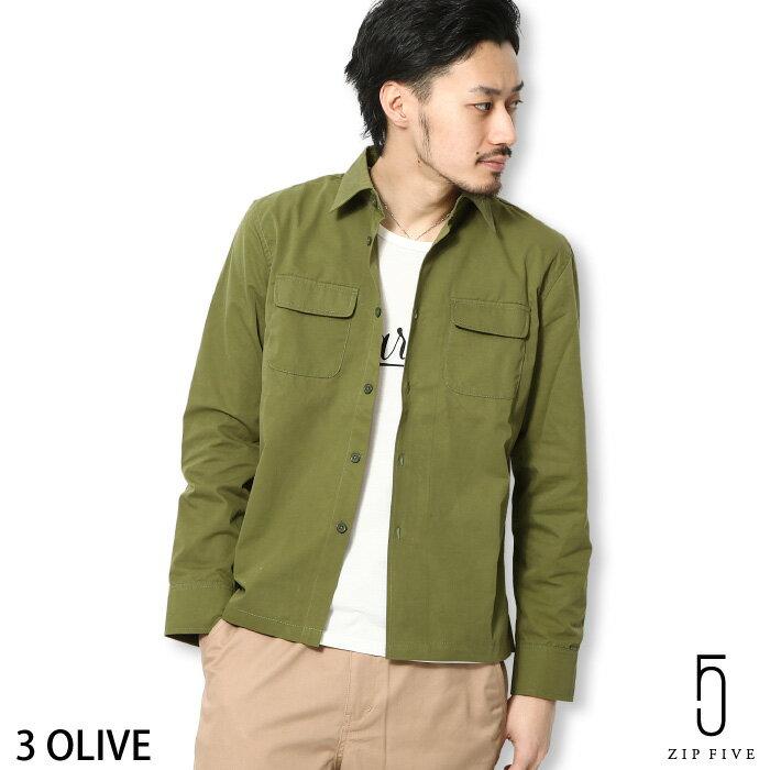 工作襯衫 緞面府綢 ZIP FIVE 日本男裝 超商取貨 zip-tw【br4001】