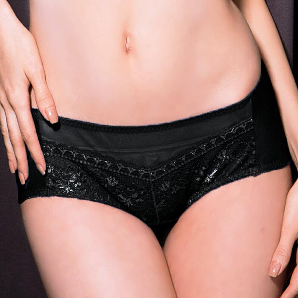 【LIYAZU】J拉提 超深V機能系列三角褲(黑) - 限時優惠好康折扣