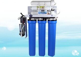 商業用全自動水質偵測 逆滲透RO機750型(150-200加崙/天)