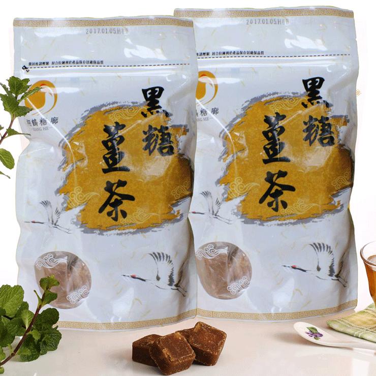 【翔鶴糖廓】五合一薑母茶(大顆,370g) 0