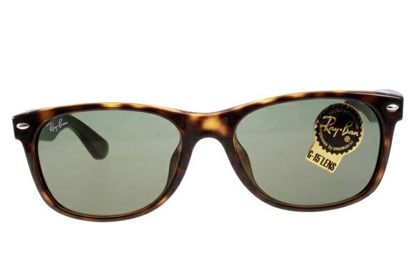 Ray Ban 雷朋 琥珀玳瑁色 RB2140 太陽眼鏡  加大&正常版 3