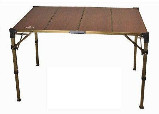 Go Sport 台灣 | 高低可調複合板摺疊桌(4片) | 秀山莊(ZC96023)