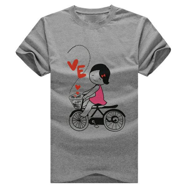◆快速出貨◆獨家配對情侶裝.客製化.T恤.最佳情侶裝.獨家款.純棉短T.MIT台灣製.LOVE BICYCLE【Y0008】可單買.艾咪E舖 3
