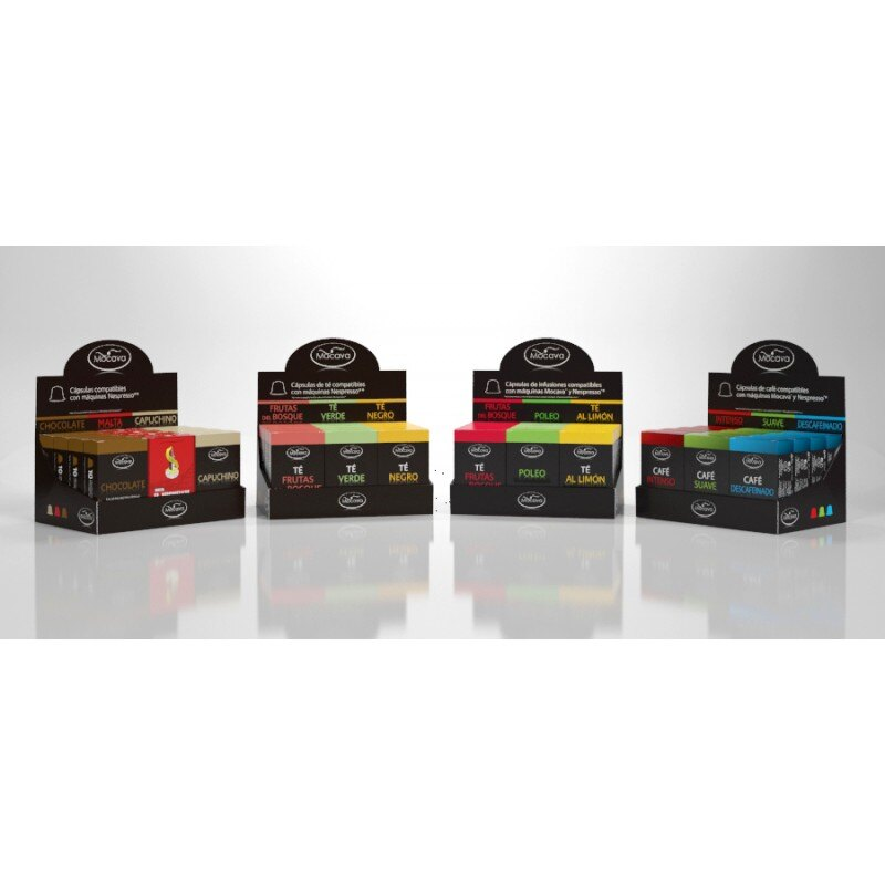 Pack 120 cápsulas EXTRA INTENSO compatibles con Nespresso 2