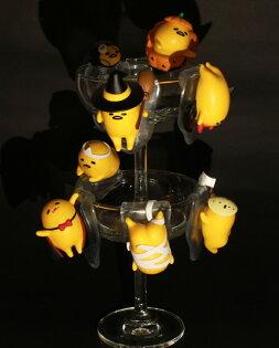 【UNIPRO】慵懶 療癒系 蛋黃哥 搞怪SHOW 杯緣子 萬聖節gudetama 搞怪秀公仔 三麗鷗正版授權 整套販售