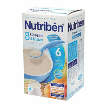 【安琪兒】西班牙【Nutriben 貝康】8種穀類水果奶麥精600g - 限時優惠好康折扣