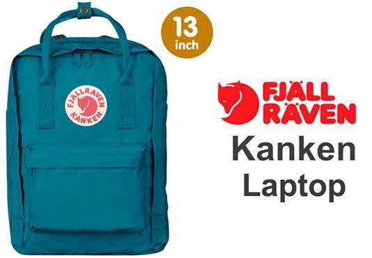 瑞典 FJALLRAVEN KANKEN laptop 13inch 539湖水藍 小狐狸包 0