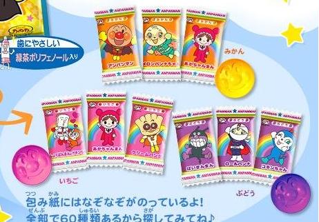 有樂町進口食品 日本進口 不二家麵包超人造型糖果 4902555123189 1