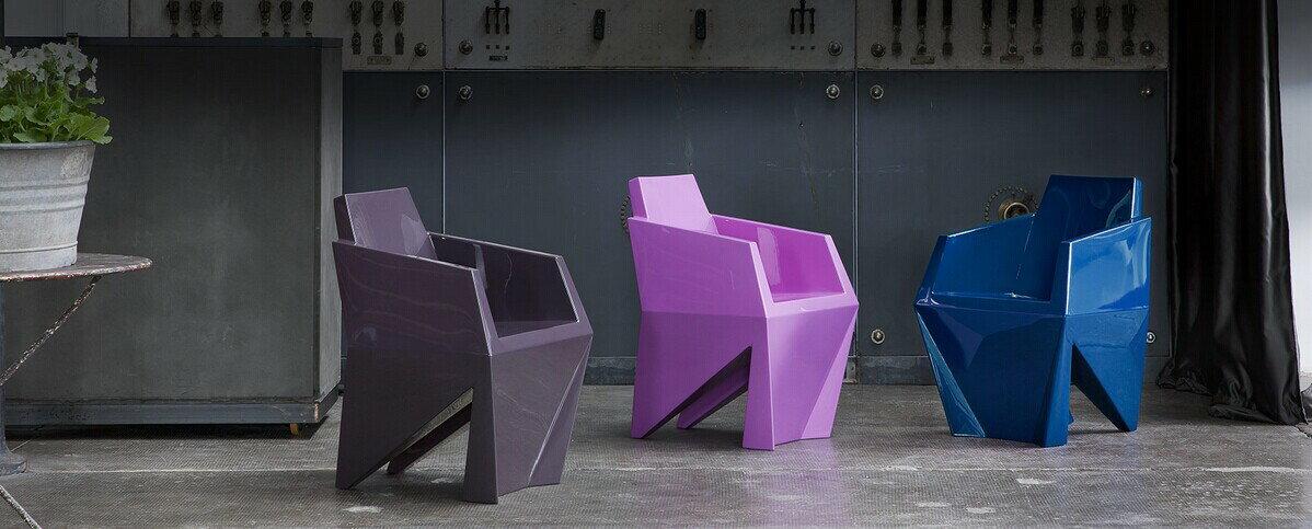 義大利B-Line Gemma (Design by Karim Rashid 2013)GM01塑膠本色 3