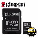 *╯新風尚潮流╭*金士頓 16G 16GB SDHC Class4 MicroSD 記憶卡 SDC4/16GB
