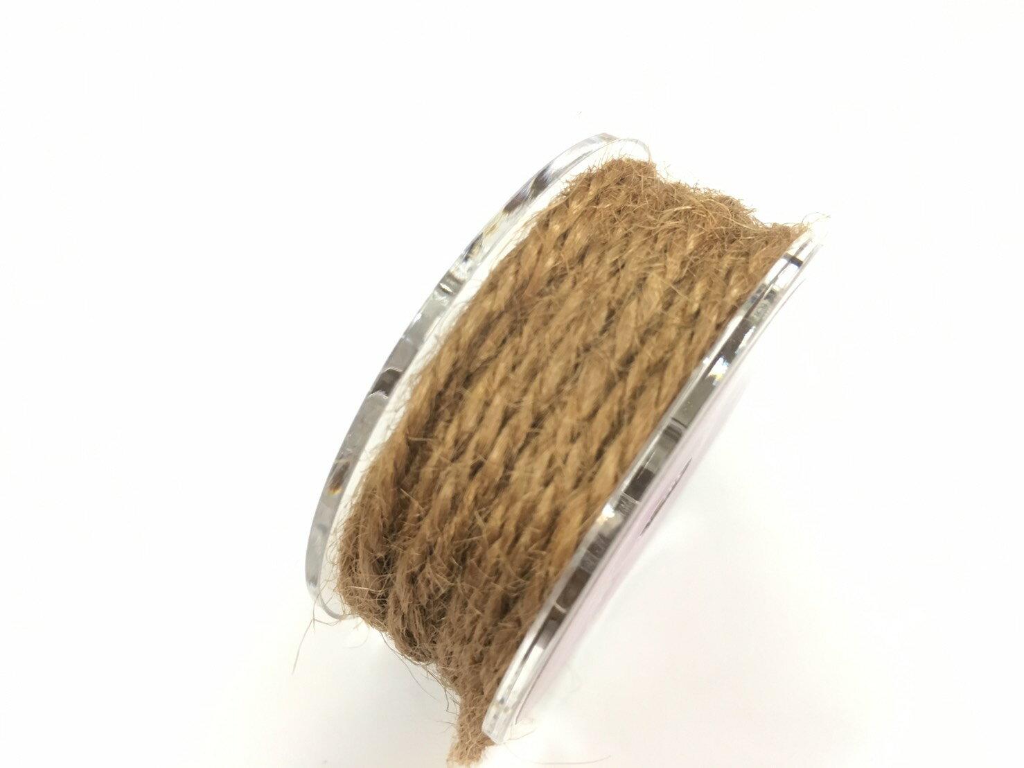 【Crystal Rose緞帶專賣店】單色素麻繩 2mm 5碼裝 (15色) 6
