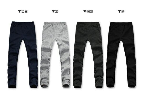 ☆BOY-2☆【PK299】情侶MIT保暖縮口運動棉褲 2