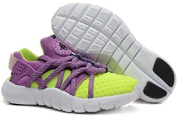Nike air huarache run ultra breathe 二代黑白武士 跑步慢跑鞋 情侶鞋【T0052】潮
