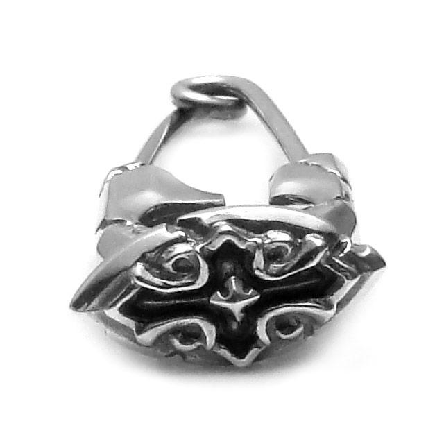 網路獨家【F.A.L】十字軍花朵別針純銀耳環 (FA-PE-0038) 2