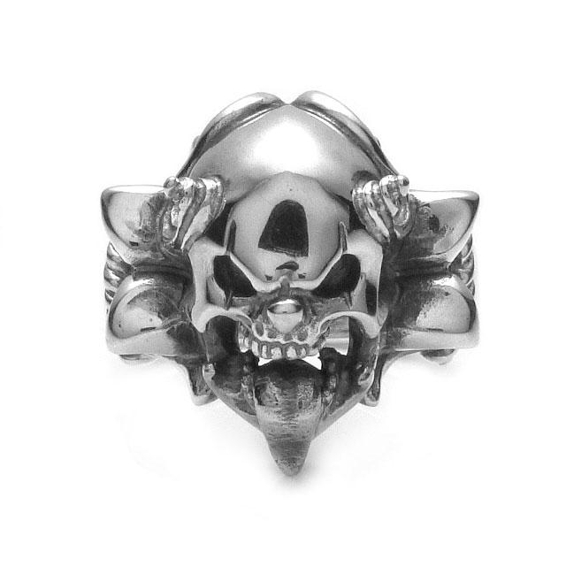 網路獨家【F.A.L】長舌鬼臉小丑純銀戒指 (FA-R-0056) 1