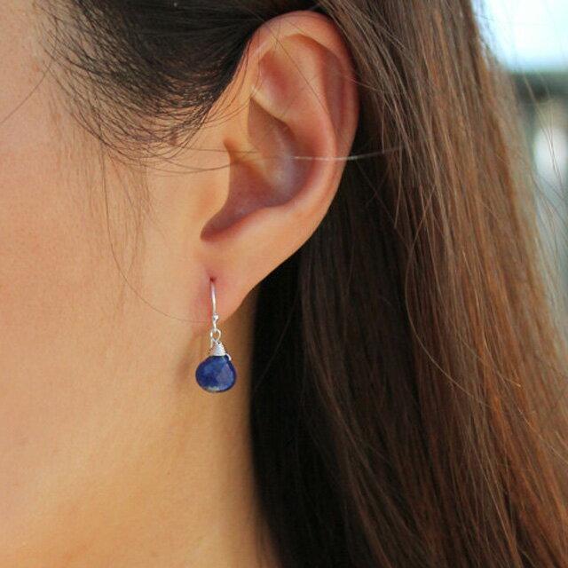 【現貨商品】【Kris Nations】神秘寶石垂墜式耳環 紫水晶(E-MYSTGEM-G-Amy  0822850000) 1