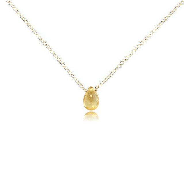 【現貨商品】【Kris Nations】神秘寶石水滴型項鍊 黃水晶(N-MYSTGEM-P-Cit  0776790000) 0
