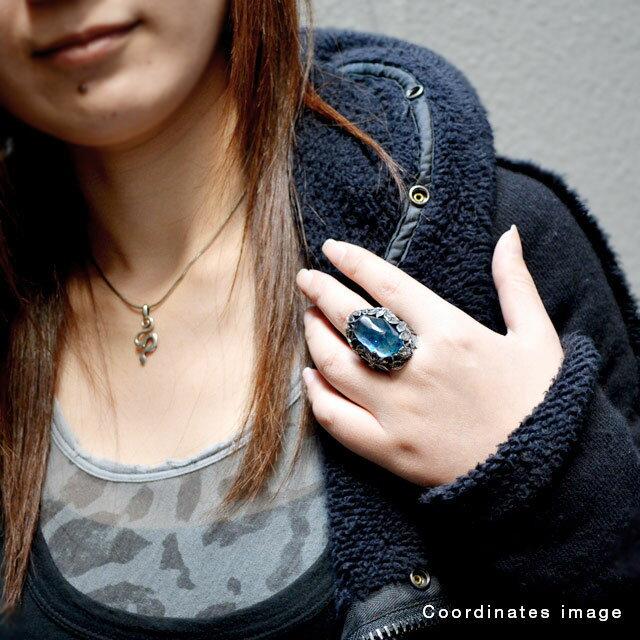 【海外訂購】【LYLY ERLANDSSON】the WINTER 極寒冰雪純銀戒指 - 冰晶藍(L-02-001) 5