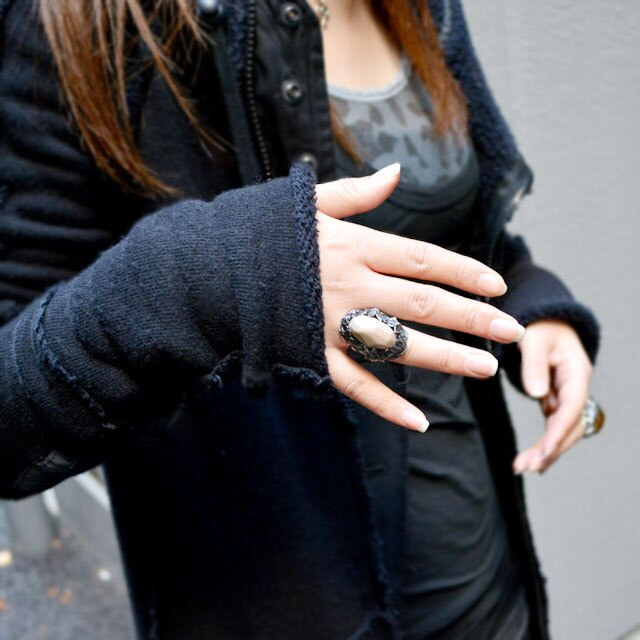 【海外訂購】【LYLY ERLANDSSON】the WINTER 極寒冰雪純銀戒指 - 珍珠白(L-02-012) 5