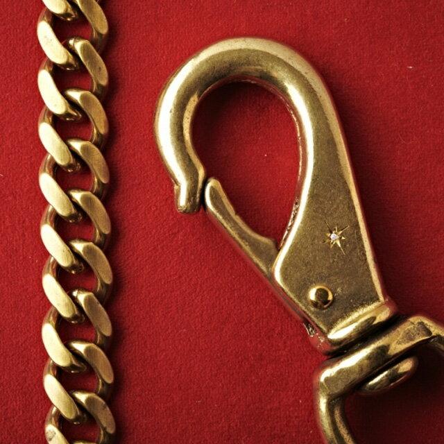 【海外訂購】【amp japan】銅質鑲鑽皮夾鏈(AMP-11AD-208  0532790000) 2