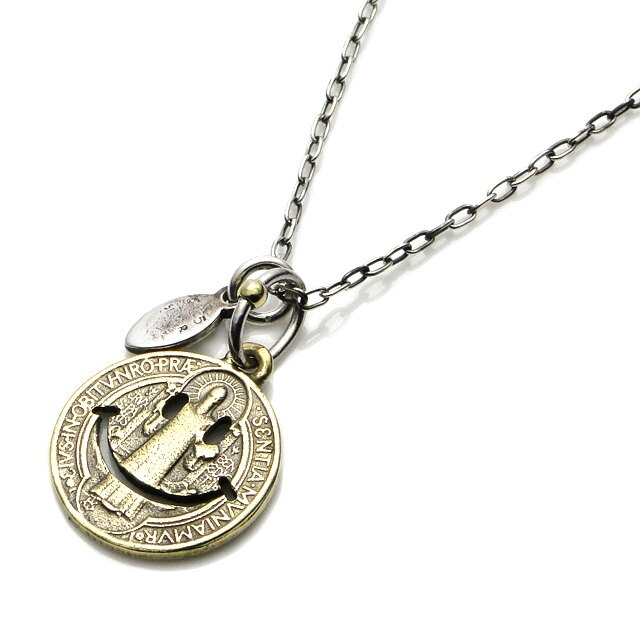 【海外訂購】【amp japan】微笑銅製錢幣項鍊 (AMP-11AD-890 0566990000) 0