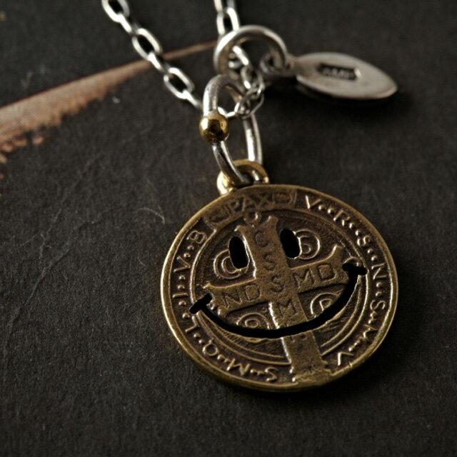 【海外訂購】【amp japan】微笑銅製錢幣項鍊 (AMP-11AD-890 0566990000) 1