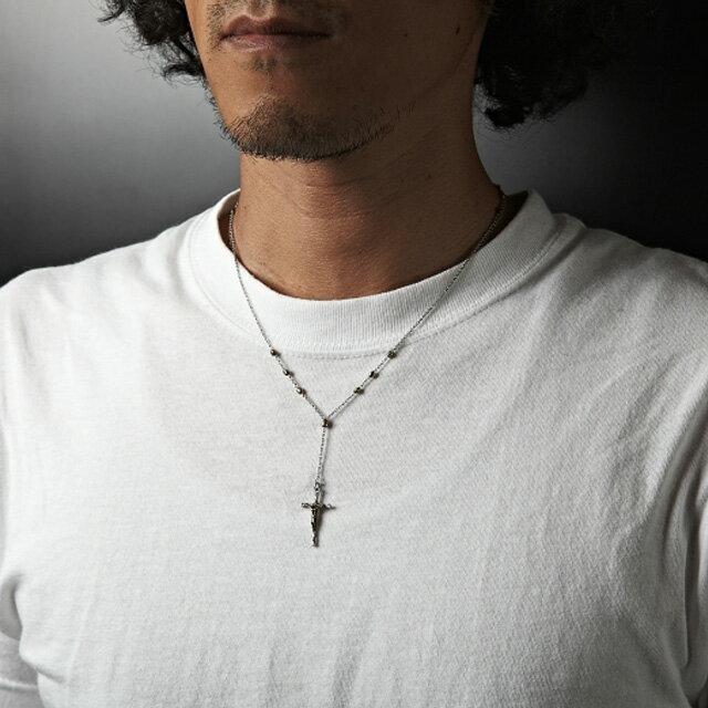 【海外訂購】【amp japan】美式串珠十字架項鍊(AMP-12AH-150 0592340000) 4