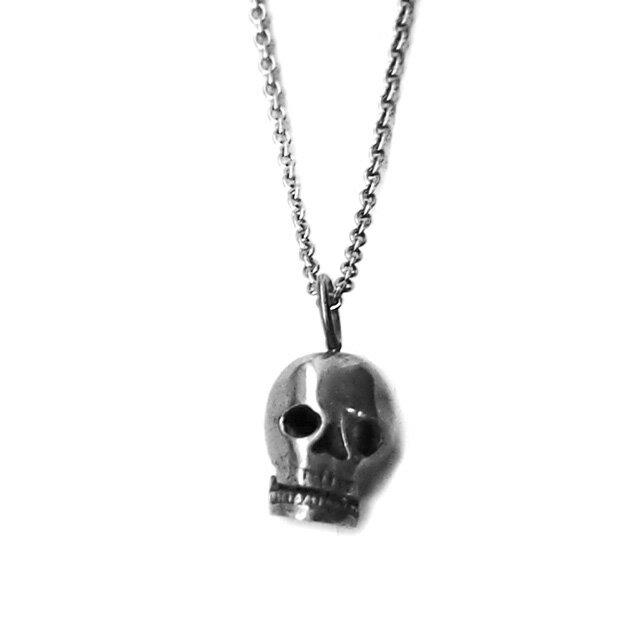 【海外訂購】【amp japan】聖骷髏不鏽鋼串珠項鍊(AMP-12AH-154  0596940000) 0