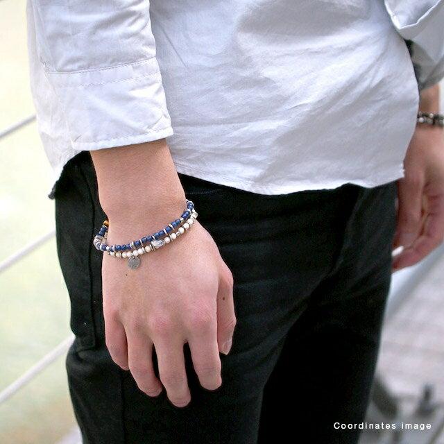 【海外訂購】【amp japan】米白色卵石串珠手鍊 (AMP-13AHK-152 0641250000) 4