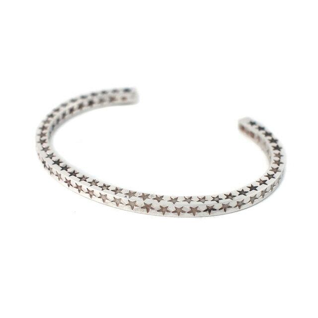 【海外訂購】【amp japan】星星刻印純銀手環(AMP-14AO-315  0783250000) 0
