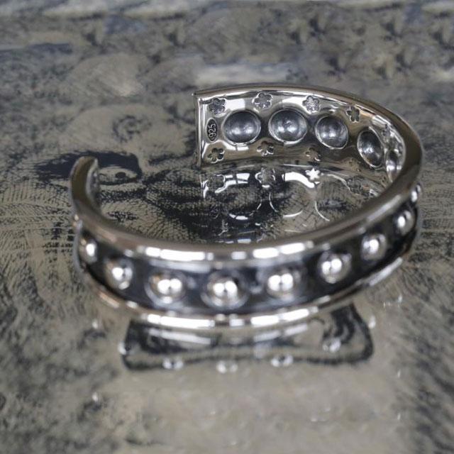 【現貨商品】【amp japan】925純銀混合圓圈手環(AMP-16AC-341 0919090000) 2