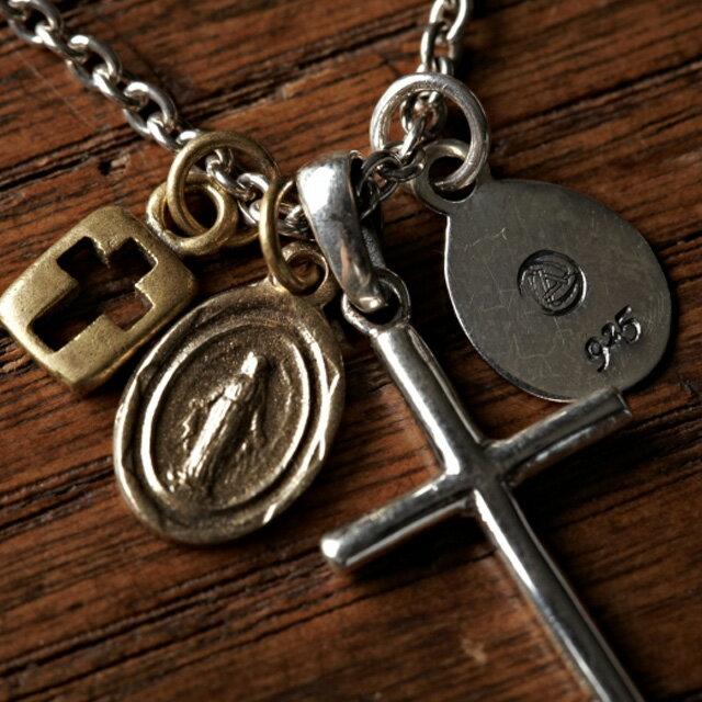 【海外訂購】【amp japan】十字架圓牌墜飾項鍊(AMP-1AK-168 0531860000) 1