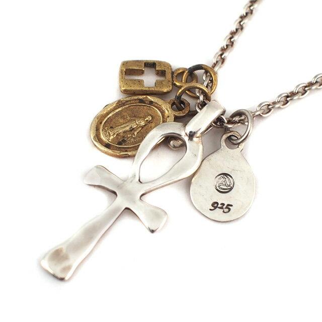 【海外訂購】【amp japan】小埃及銅製瑪麗亞與十字架項鍊(AMP-1AK-169 0561030000) 0