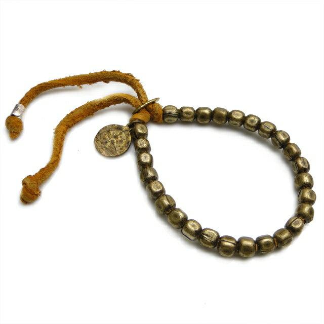 【海外訂購】【amp japan】銅珠原色皮革手環(AMP-4AK-163  0531900000) 0