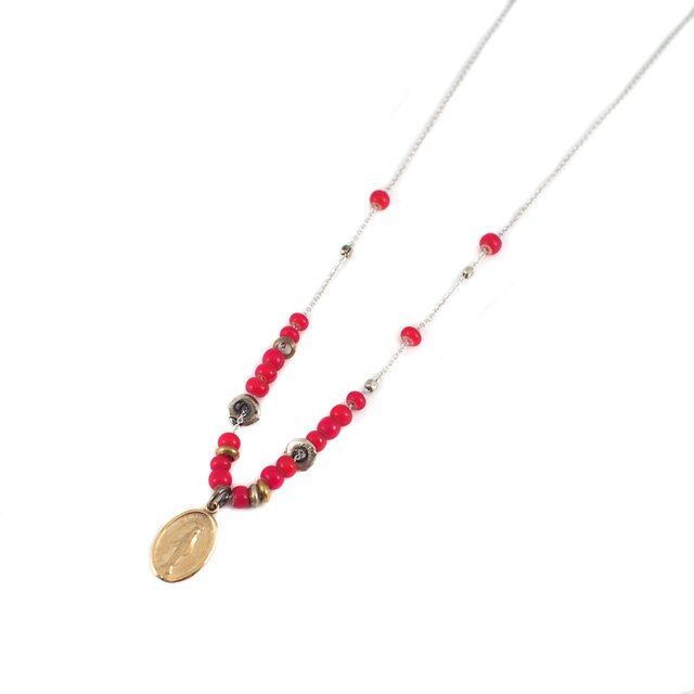 【海外訂購】【amp japan】血色瑪莉純銀串珠項鍊(AMPC-12BCH-115 0580730000) 0