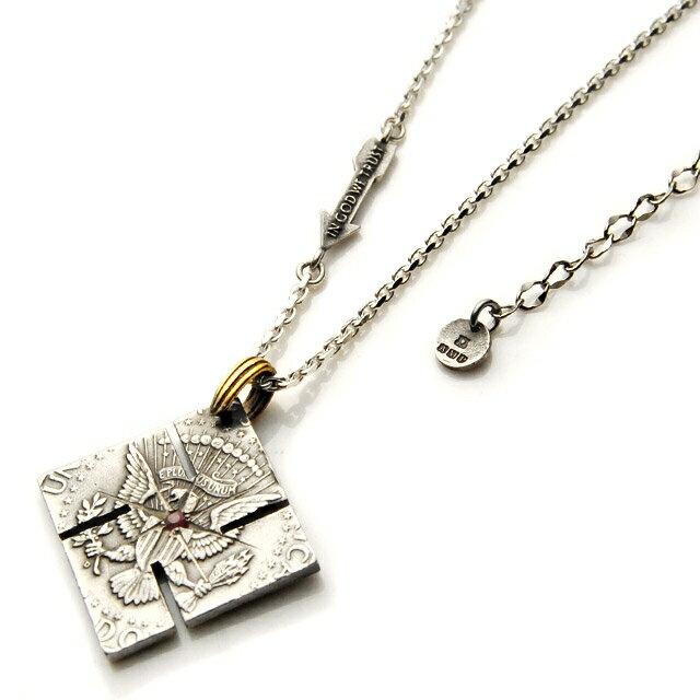 【海外訂購】【amp japan】紅寶石錢幣純銀項鍊  (AMPC-13ACH-102  0641450000) 0